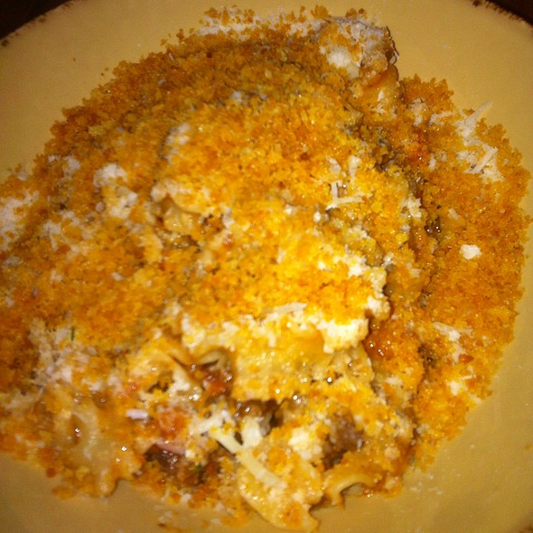 House Made Pasta With Beef Ragu And Housemade Bread Crumbs - Basso, St. Louis, MO