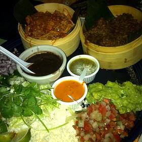 Chicken And Pork Bbq Plate - Chino Latino, Minneapolis, MN