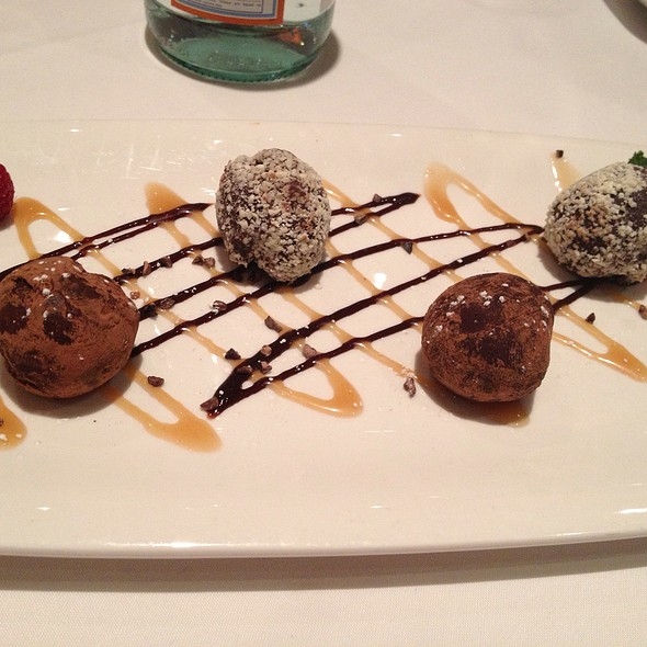Chocolate Truffles - Fleming's Steakhouse - Des Moines, Des Moines, IA