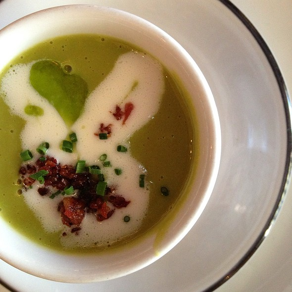 Split Pea Soup With Bacon And Cream - Joseph Decuis, Roanoke, IN