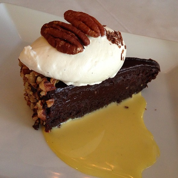 Pecan Bourbon Chocolate Cake - Joseph Decuis, Roanoke, IN