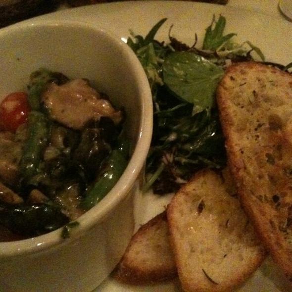 Sauteed Escargots w/ Frisee Salad - Bistro Pastis, Vancouver, BC
