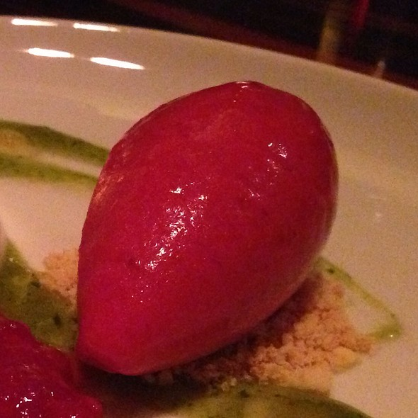 Rasberry Sorbet - BLT Steak, New York, NY