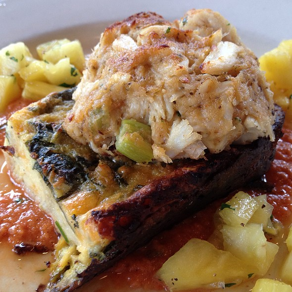 Crab Cake Florentine - Atria's - PNC Park, Pittsburgh, PA