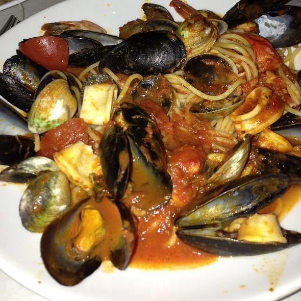 Frutti Di Mare Pasta - Pappardella, New York, NY
