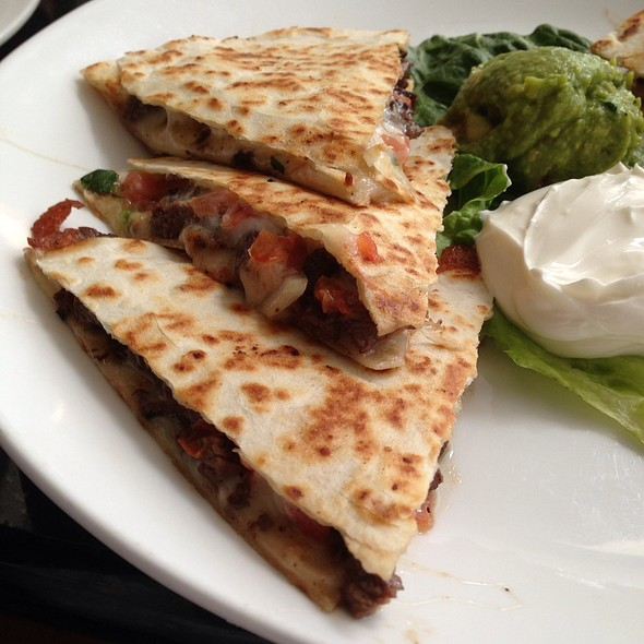 Steak Quesadilla - Cocina 214 – A Contemporary Mexican Kitchen and Bar, Winter Park, FL