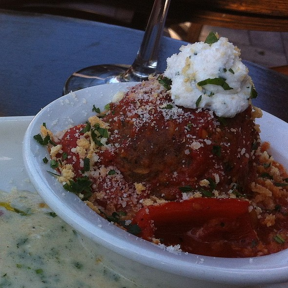 Mini Old School Kobe Meatball - Vic and Angelo's, Palm Beach Gardens, FL