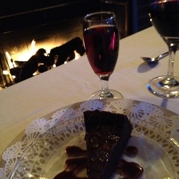 Chocolate Cake - The English Inn, Eaton Rapids, MI