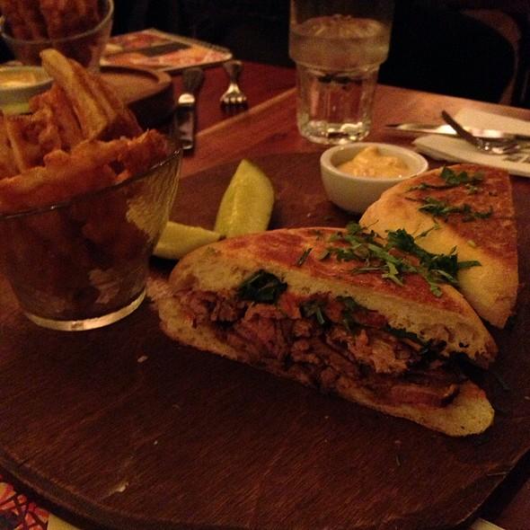 Steak Paninni - Max Brenner - Union Square, New York, NY