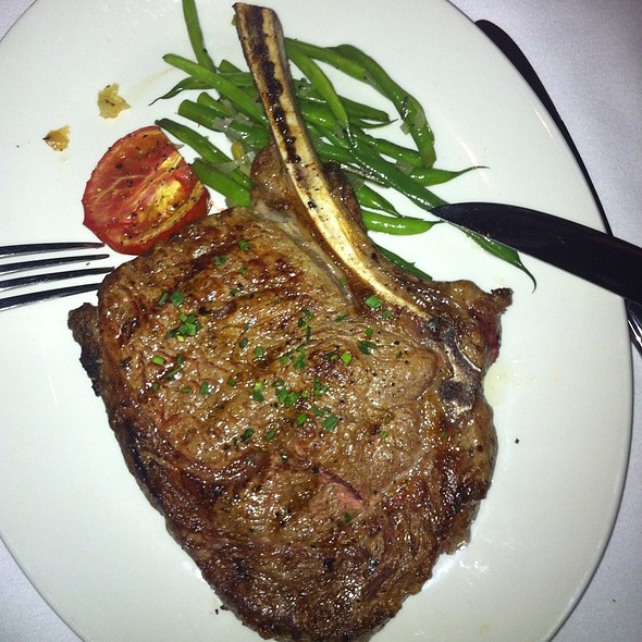 Bone In Ribeye - Simms Steakhouse, Golden, CO