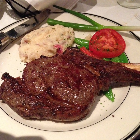 Bone In Ribeye - Silver Fox Steakhouse Richardson, Richardson, TX