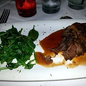 Braised Short Ribs Of Beef - Fleming's Steakhouse - LA, Los Angeles, CA