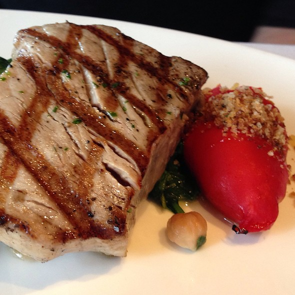 Ahi Tuna & Stuffed Red Pepper - Boulevard, San Francisco, CA