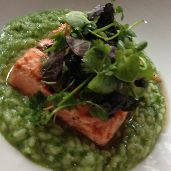 Salmon & Avocado Risotto - Boulevard, San Francisco, CA