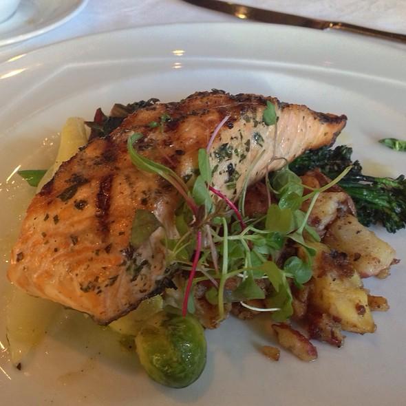 Grilled Salmon - Terra Restaurant, Thornhill, ON