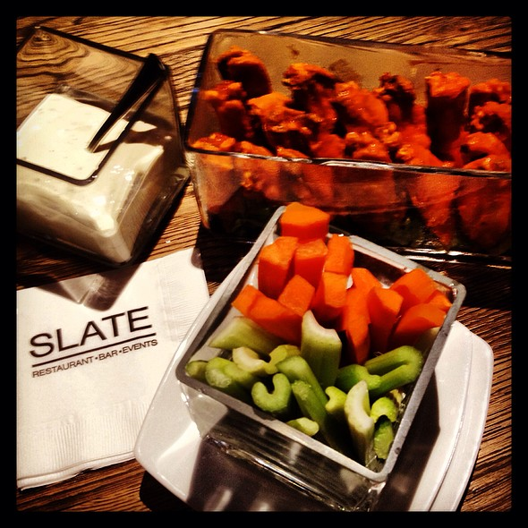 Buffalo Style Chicken Wings - Slate, New York, NY
