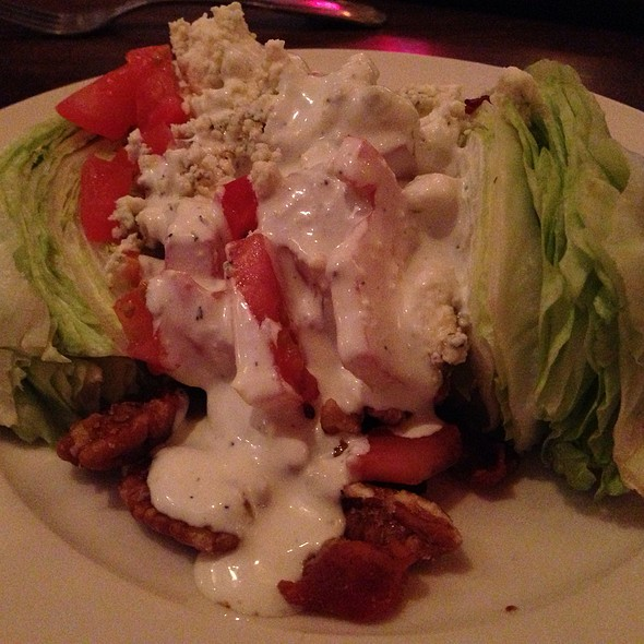 Lettuce Wedge salad - Blue Marlin, Columbia, SC