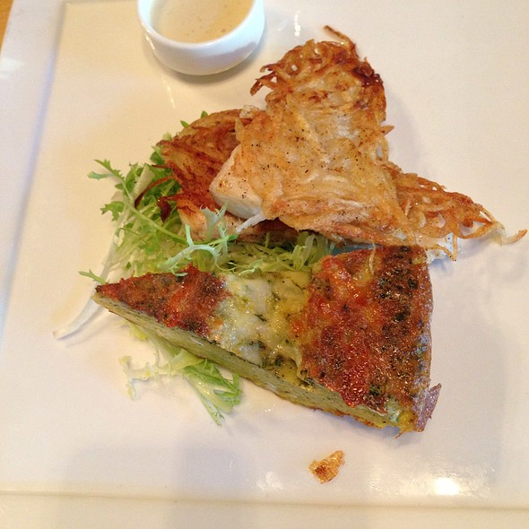 Potato Crusted Halibut - District Kitchen, Washington, DC