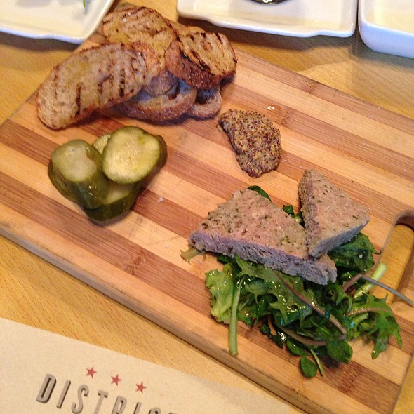 Housemade Pork Pate - District Kitchen, Washington, DC