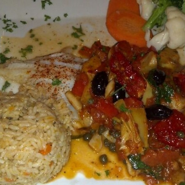 Pan Seared Cod - Riverside Manor Restaurant & Banquets, Paterson, NJ