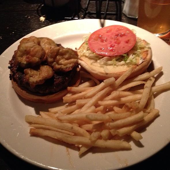 Old Time Pub Burger - Rock Bottom Brewery Restaurant - Boston, Boston, MA
