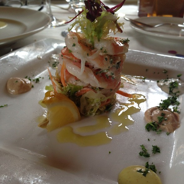 Shrimp Tower - Bouchard Restaurant and Inn, Newport, RI