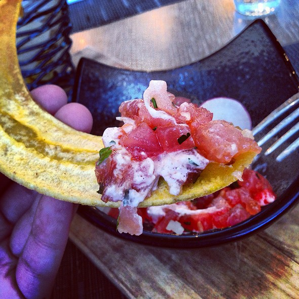 Tuna And Watermelon Tartare - Edge, Steak + Bar, Miami, FL