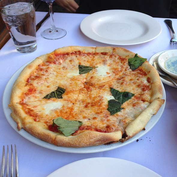 Magherita Pizza - Sofia's of Little Italy, New York, NY