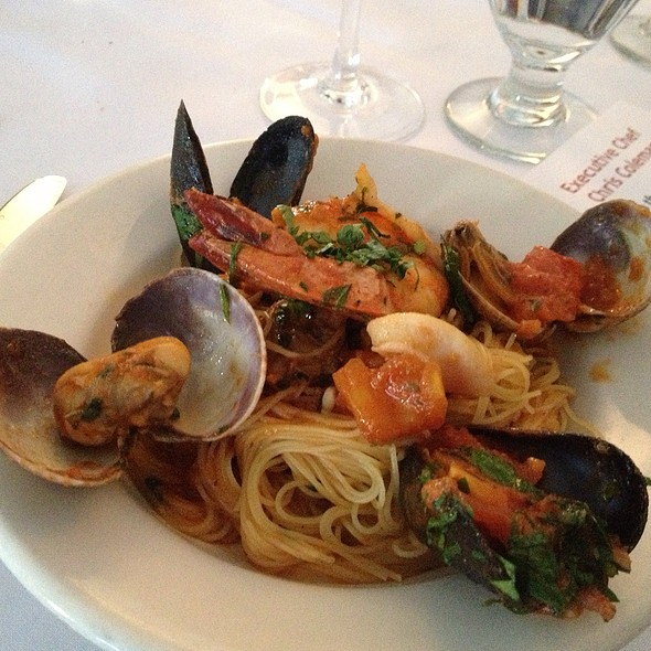 Capellini With Seafood - Petaluma, New York, NY
