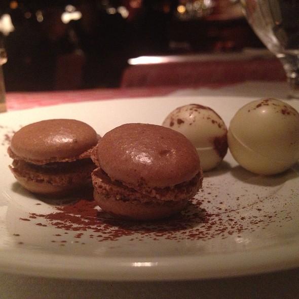 Chocolates and macaroons - 21 Club, New York, NY