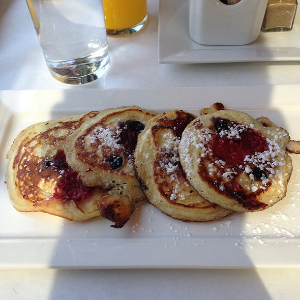 Buttermilk Pancakes W/ Mixed Berries - b, A Bolton Hill Bistro, Baltimore, MD