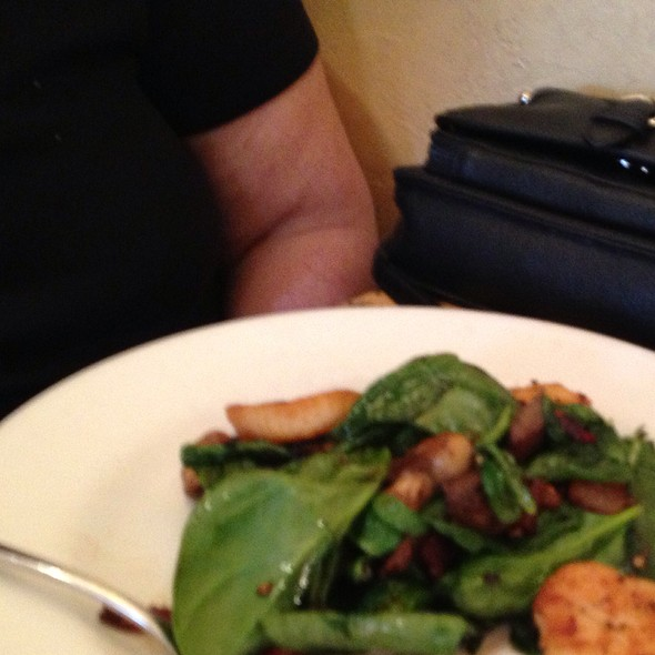 Spinach And Scallop Salad - The Rail Stop, The Plains, VA