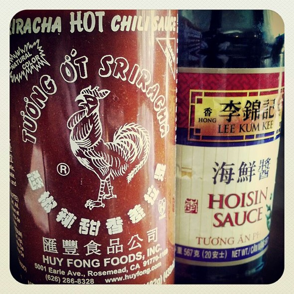 Sriracha Sauce & Hoisin Sauce  - Le Viet, Philadelphia, PA