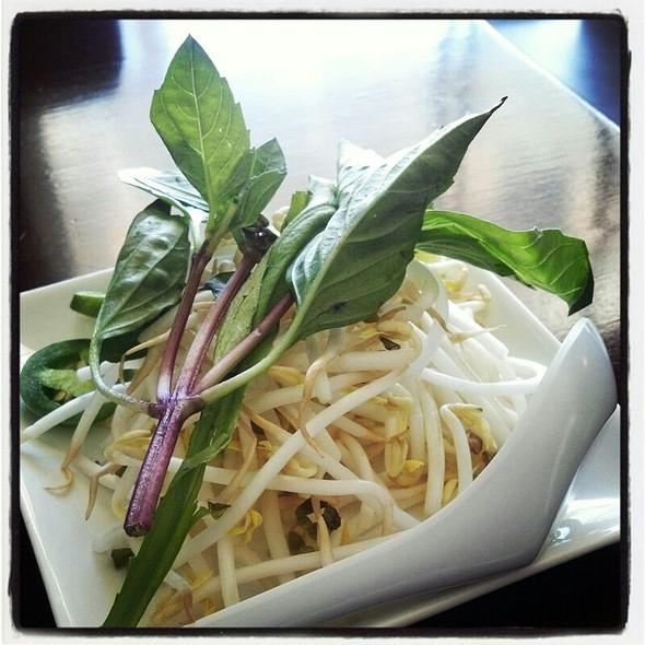 Thai Basil, Bean Sprouts, Lime & Jalapeño  - Le Viet, Philadelphia, PA