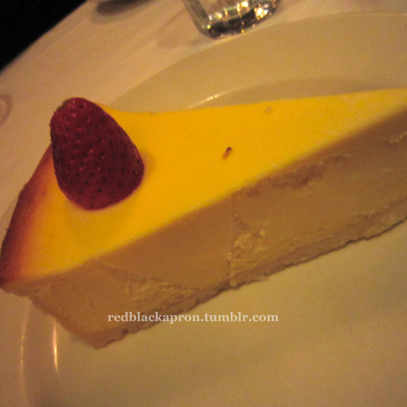 New York Cheesecake - Morton's The Steakhouse - Philadelphia, Philadelphia, PA