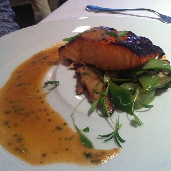 Miso Glazed Scottish Salmon - The North Fork Table & Inn, Southold, NY
