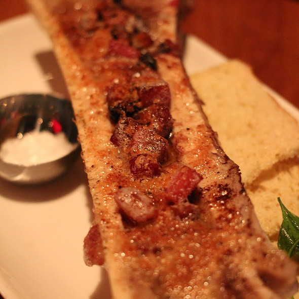 bacon bone marrow - CHARCUT, Calgary, AB