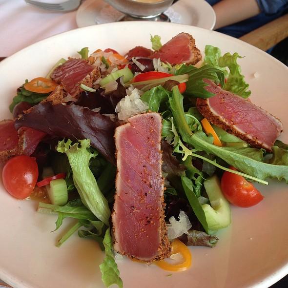 Ahi Tuna Salad - Bayside Restaurant, Newport Beach, CA