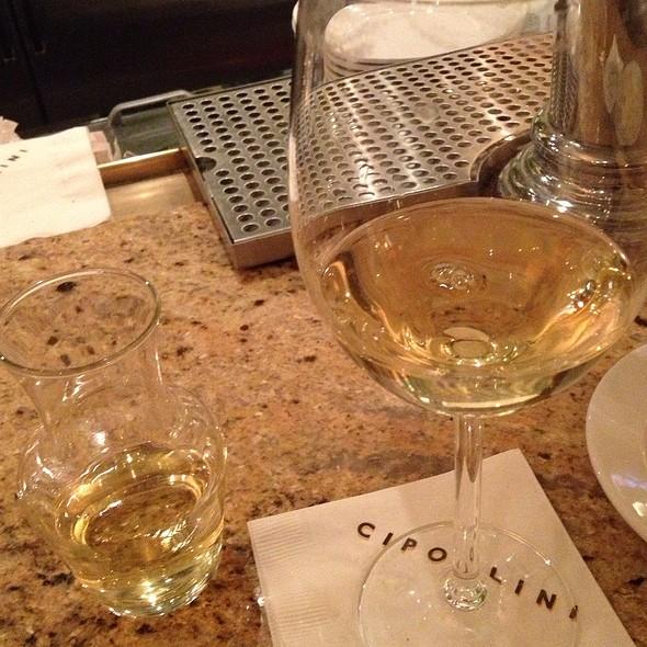 Garganela Chardonney - Cipollini Trattoria and Bar, Manhasset, NY