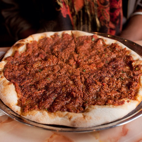 Lambjin Pitza - Bedouin Tent Restaurant Brooklyn NY & Bedouin Tent Restaurant - Brooklyn NY | OpenTable