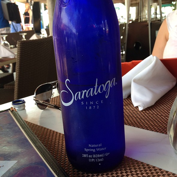 Saratoga Natural Spring Water - Aura, Miami Beach, FL