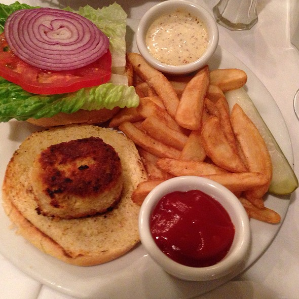Crab Cake Sandwich - Bascom's Chop House, Clearwater, FL