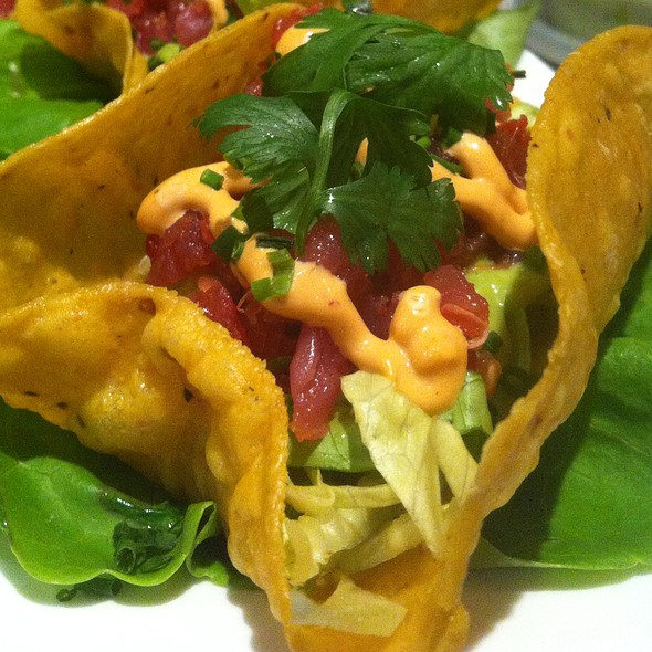 Spicy Ahi Tuna Tacos - Fire & Oak - Montvale, Montvale, NJ