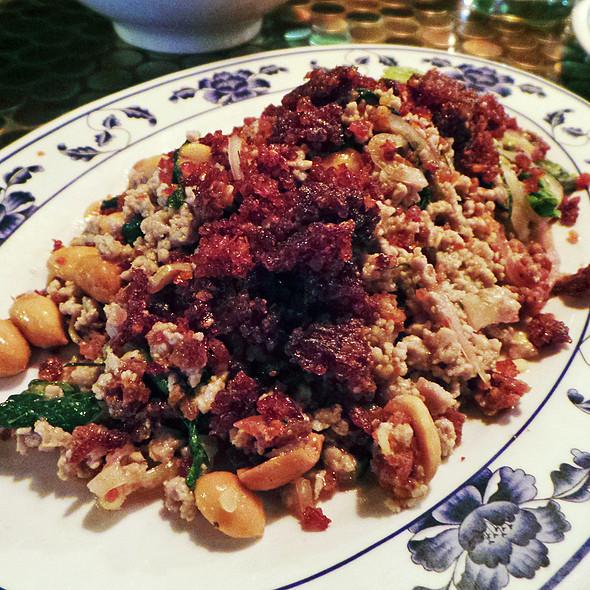Crispy Red Curry Rice Salad - Pig and Khao, New York, NY