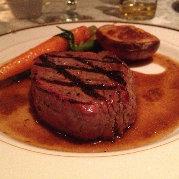 Grilled Filet Mignon With Pinot Noir Sauce - The Brick House, Wyckoff, NJ