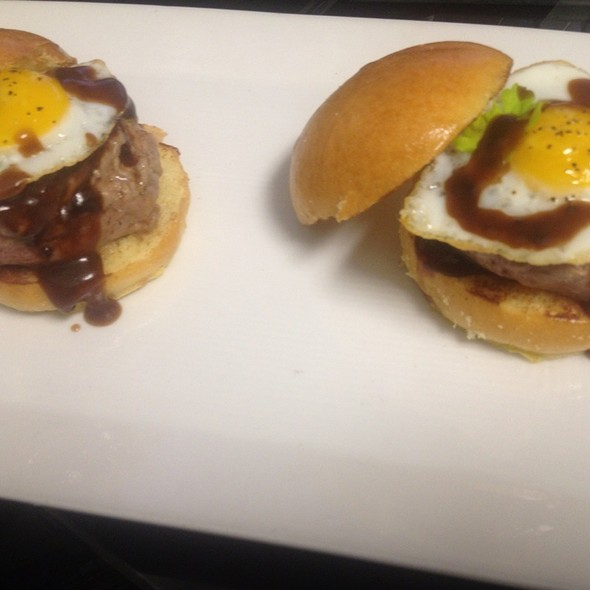 Steak And Egg Sliders - Kings Oak, Philadelphia, PA