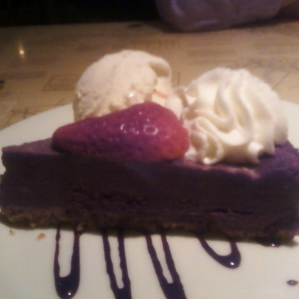 Chocolate Fudge Cake - Fleet Landing Restaurant & Bar, Charleston, SC