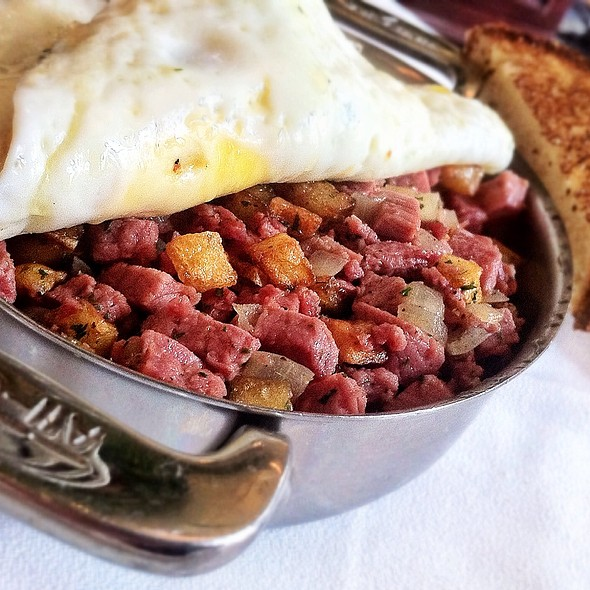 Corned Beef Hash - Bouchon at The Venetian, Las Vegas, NV