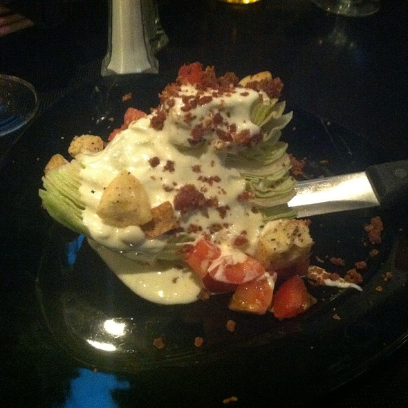 Wedge Salad - Sonny Lubick Steakhouse, Fort Collins, CO