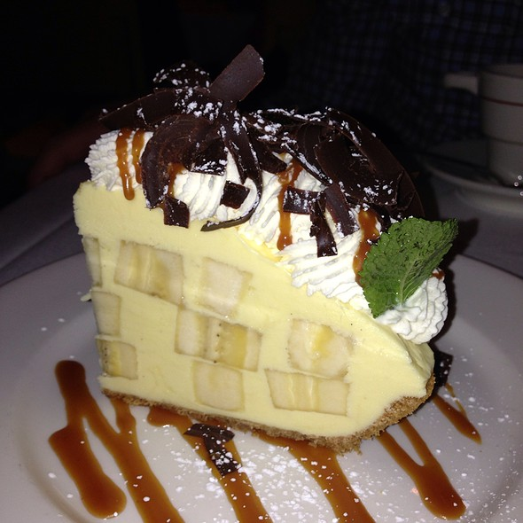 Emeril's Banana Cream Pie - Emeril's Restaurant, New Orleans, LA